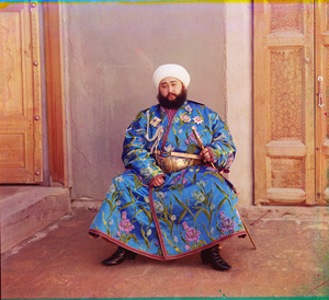"Emir of Bukhara, 1911© Sergei Mikhailovich Prokudin-Gorskii, from the book ""Nostalgia"". Images courtesy US Library of Congress and Gestalten publishers, Berlin."