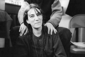 "From ""Two Times Intro: On the Road with Patti Smith"", 1998, 2011 © Michael Stipe"