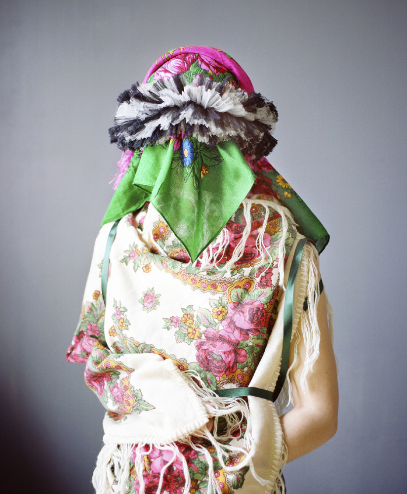 Camouflage aux foulards © Marie Hudelot