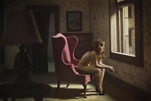 "Woman At A Window. From the series ""Hopper Meditations"" © Richard Tuschman"