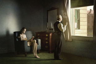 "Hotel By Railroad. From the series ""Hopper Meditations"" © Richard Tuschman"