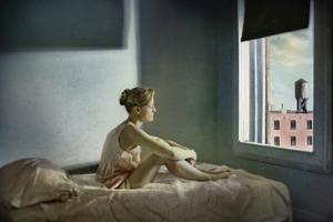 "Morning Sun. From the series ""Hopper Meditations"" © Richard Tuschman"