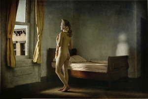 """Morning In A City. From the series """"Hopper Meditations"""" © Richard Tuschman"""