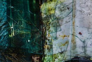 Broken Glass, Town Hill, Maine, 2014, © Alan Henriksen