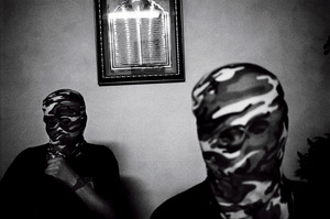 Al-Aqsa Marthyrs Brigade members in Gaza, Palestine 2004 © Paolo Pellegrin