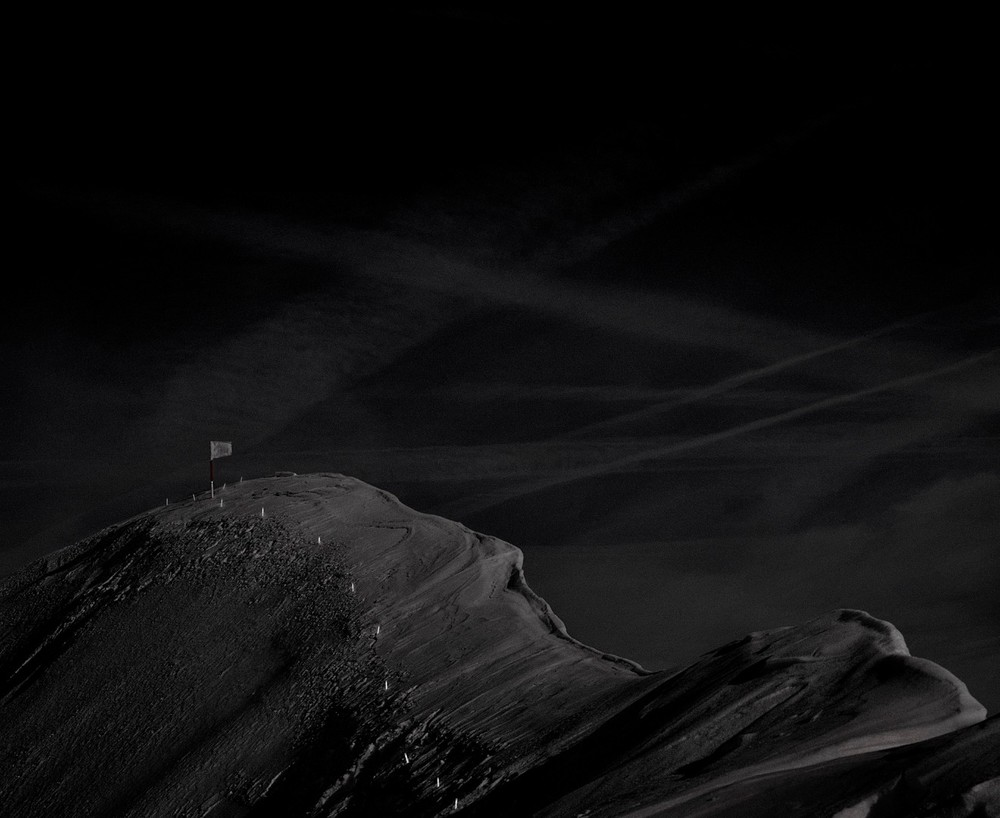 On the border between France, Switzerland, Italy. 45°55'21.24 N, 7° 2'39.82 E. Commune de Chamonix-Mont-Blanc, Mont Dolent. © Albin Millot