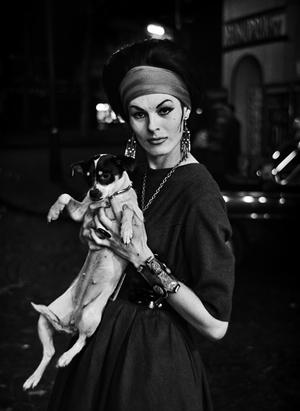 Jacky  Adèle Chanel Mannequin, 1961. Courtesy Galerie VU'. © Christer Strömholm.
