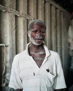 "The Manioc Miller, Bujumbura. Manioc is the principal ingredient of Burundian daily food. From ""Only in Burundi"" © Anaïs López"