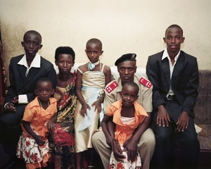 """The Soldier and His Family, Bujumbura. From """"Only in Burundi"""" © Anaïs López"""