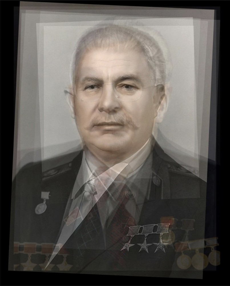All the Leaders of the Soviet Union (1917 – 1991). C-print, 2008. © Alejandro Almaraz