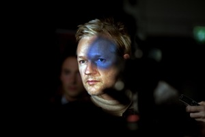 2nd Prize People In The News Single © Seamus Murphy, Ireland, VII Photo Agency. Julian Assange, founder of WikiLeaks, London, 30 September