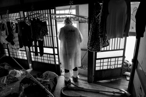 "Residents going back home to collect their belongings, Tomioka city, from the series Fukushima ""No Go"" Zone, © Pierpaolo Mittica."