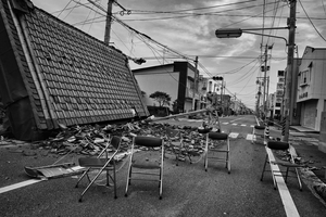 "Odaka city, from the series Fukushima ""No Go"" Zone, © Pierpaolo Mittica."