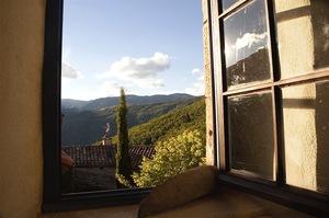 Views on the Cevenoles Mountains