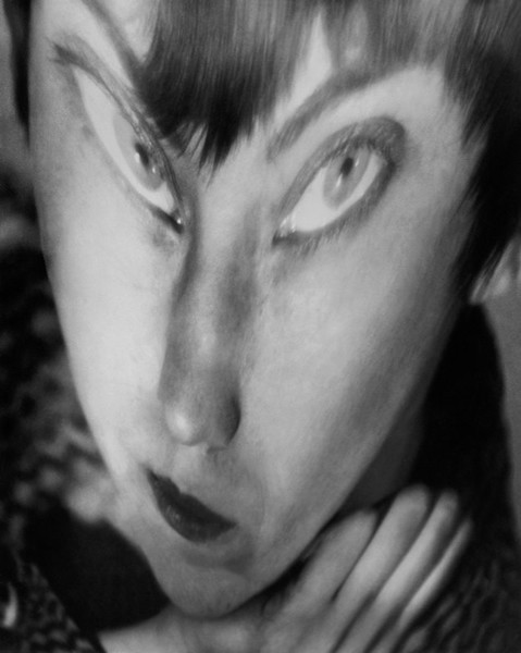 Berenice Abbott, Self-Portrait, distortion, 1945 Gelatin silver print, 24 x 19 cm Ronald Kurtz / Commerce Graphics © Berenice Abbott / Commerce Graphics Ltd, Inc.