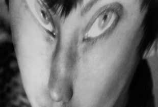 Berenice Abbott, Self-Portrait, distortion, 1945 Gelatin silver print, 24 x 19 cm Ronald Kurtz / Commerce Graphics © Berenice Abbott / Commerce Graphics Ltd, Inc.