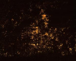 Ciel embrasé. Sky ablaze.© David Favrod