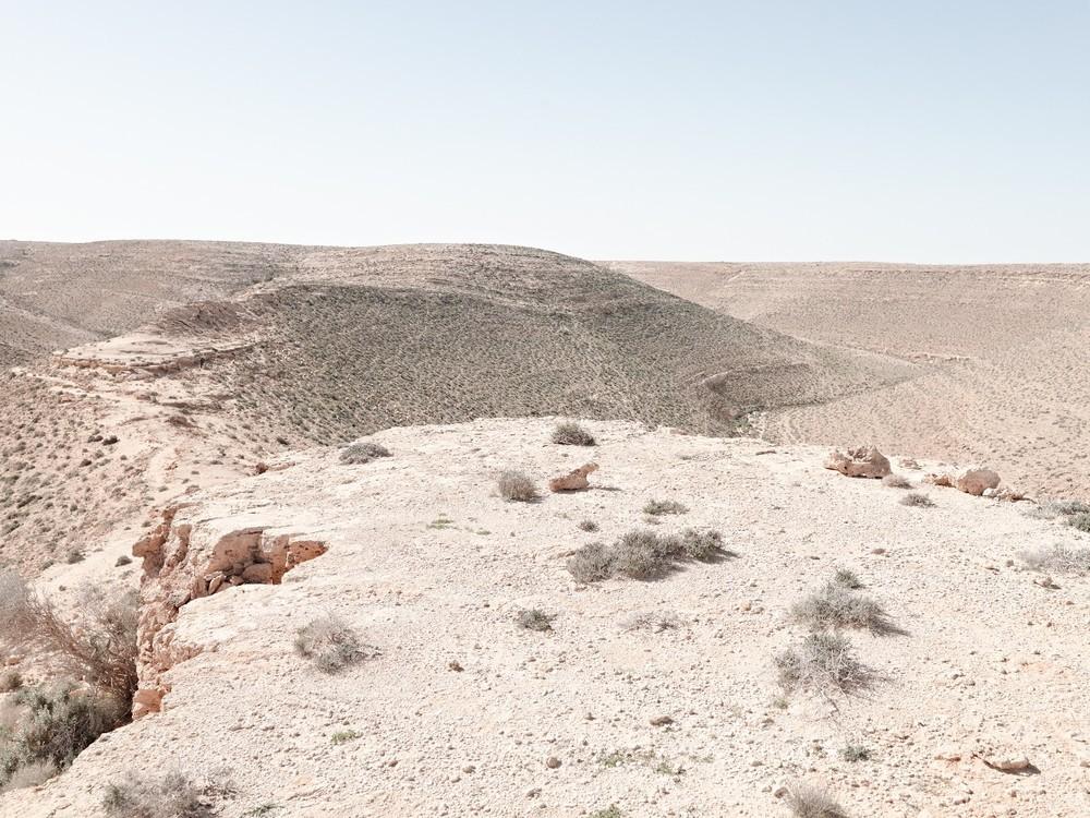 Artillery emplacement, Bunker Z84, Wadi Zitoune Battlefield, Libya © Matthew Arnold