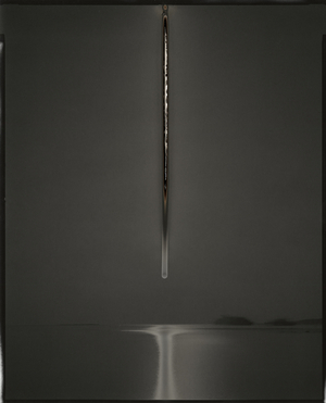 Sunburned GSP#541 (Galápagos), 2012 Unique gelatin silver paper negative. 8 x 10 inches. © Chris McCaw