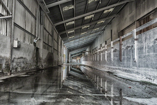 Clay Shed Reflections © Adrian Theze
