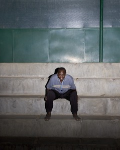 """Koky, our guide and main narrator of the book """"Only in Burundi"""" © Anaïs López"""