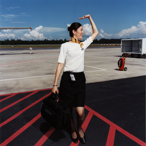 Kate, Tiger Airways, 2006 © Brian Finke