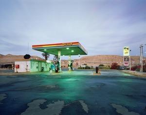 Gas Station, HaBiqah, 2011 © Yaakov Israel, FIFTY ONE