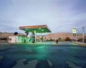 Gas Station, HaBiqah, 2011 © Yaakov Israel, FIFTY ONE