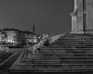 Sitting on the Salute Steps, Venice, Saturday July 22nd 2013, 2013 © Matthew Pillsbury, Bonni Benrubi
