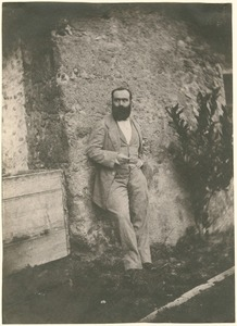 Portrait of a bearded man, Grasse, circa 1852-1855 © Charles Nègre, Hans P. Kraus Jr.