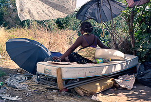 "Migration linked to prostitution © Paolo Patrizi. Honorary Mention, Anthropographia Awards 2011. In ""Migration Linked to Prostitution"" the phenomenon of foreign women working as prostitutes, facing no hope of gaining legal status and easily transferred into criminal networks, is made visible."