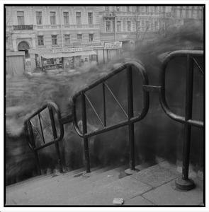 Untitled (Crowd 2), St. Petersburg, Russia, 1993 © Alexey Titarenko, Nailya Alexander Gallery