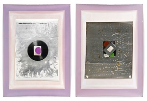 Z-2, Diptych, 258 x 174 cm, Silver Gelatin Prints, Mixed Media © Jeff Cowen