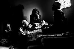 """Human trafficking : Nurs journey home © Rahman Roslan. """"Human Trafficking: Nur's Journey Home"""" is a story about an Indonesian migrant worker, Nur, who has been abused and taken advantage of while working in Malaysia over the last 5 years."""