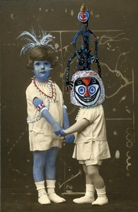 """Blue Mademoiselle, from the series """"Chimera and Wonders"""", 2011 © Coco Fronsac,  Courtesy Galerie Vallois"""