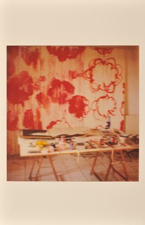 Unfinished Painting, Gaeta, 2006, © Cy Twombly