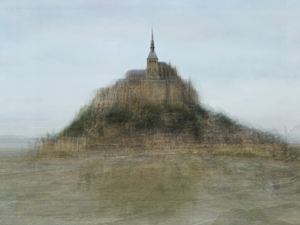 Mont St Michel, from the series Photo Opportunities © Corinne Vionnet