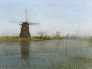 Kinderdijk, from the series Photo Opportunities © Corinne Vionnet