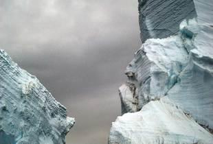 Stranded Iceberg (detail) © Camille Seaman