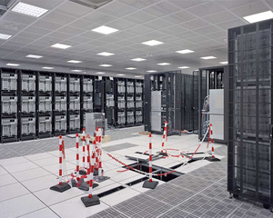 "TERA-1, the supercomputer that designs France's supercomputers. From ""Forensic Traces of War"" © Simon Norfolk"