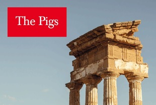"""The Pigs"" echoes the design and form of ""The Economist"" to deliver photoessays of real situations in four countries suffering in economic crisis in the EU: Portugal, Italy, Greece, Spain — referred to by the financial press with the disparaging acronym PIGS © 2013 Carlos Spottorno"
