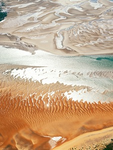 """Top of Curtis Island, Cape Capricorn, north-east of Gladstone, Queensland, Australia, from the series """"Abstract Earth"""" © Richard Woldendorp"""