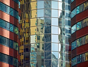 Bricks And Mirrors    New York City, New York    © Andrea Stone