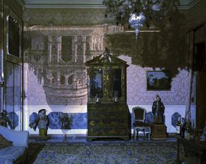 Camera Obscura Image of Santa Maria della Salute in Palazzo Livingroom. Venice, Italy, 2006 © Abelardo Morell