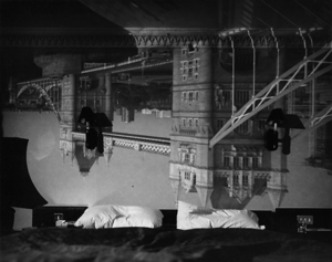 Camera Obscura Image of the Tower Bridge in the Tower Hotel, 2001 © Abelardo Morell