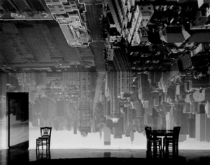 Camera Obscura Image of Manhattan View Looking South in Large Room, 1996 © Abelardo Morell