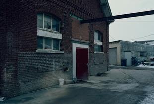 Former abattoir, Mazingarbe, Nord-Pas-de-Calais (France).