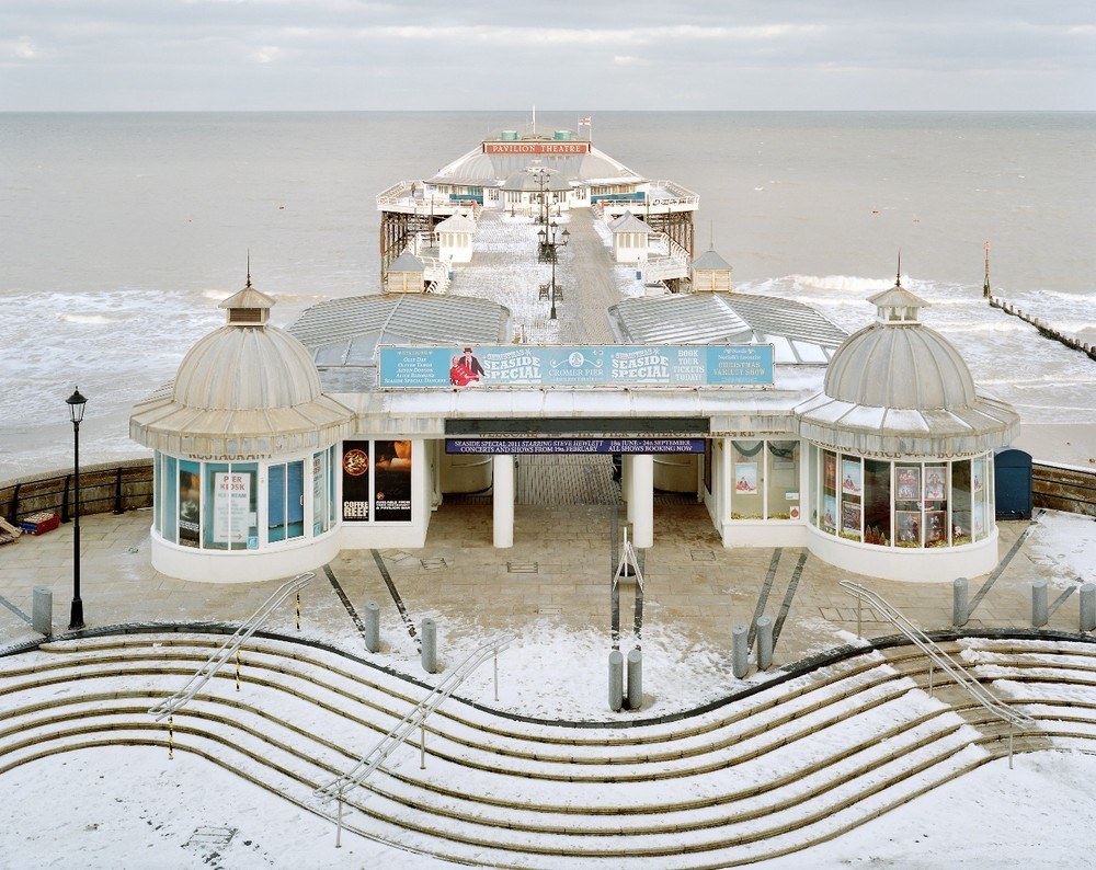 "Cromer, North Sea, opened 1901. From the series ""Pierdom"" © Simon Roberts"