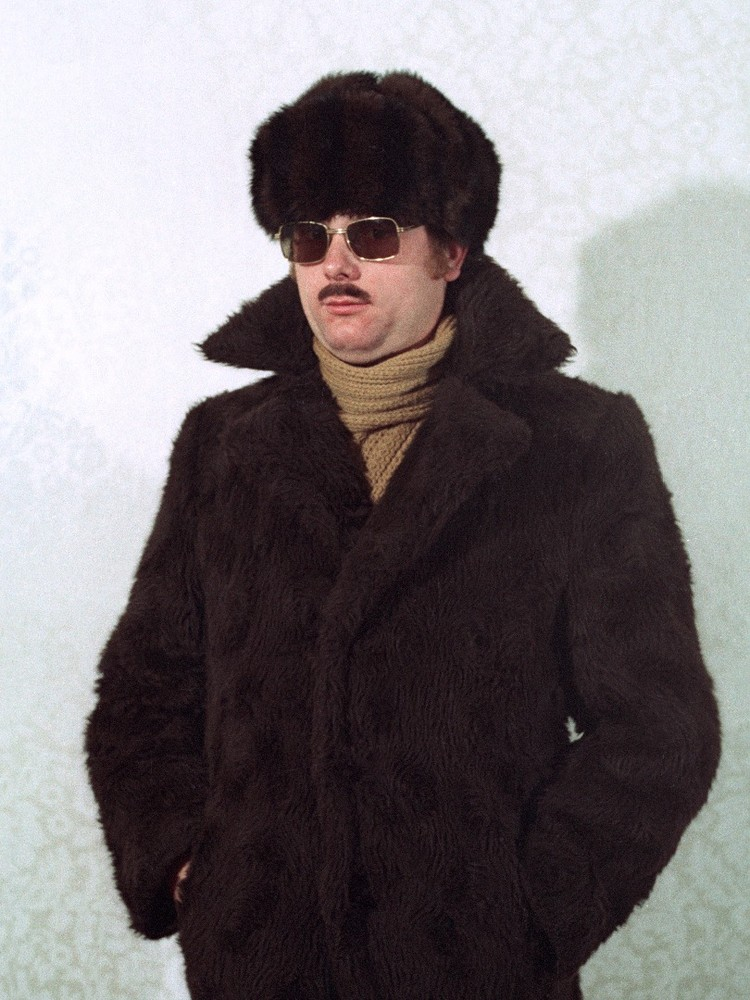 "The pictures shown here were taken during a seminar in which Stasi personnel were taught how to don different disguises. The goal of the seminar was to enable Stasi agents to move about in society as inconspicuously as possible. From the photobook ""Top Secret"" © Simon Menner"