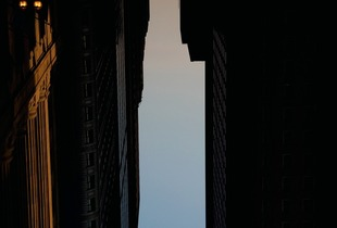 BUILDINGS MADE OF SKY II (detail), 2009 © Peter Wegner